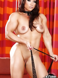 If you like big muscle girls with hard asses, you are..