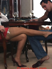 Lana Cox is Smoking hot as she plays with her feet