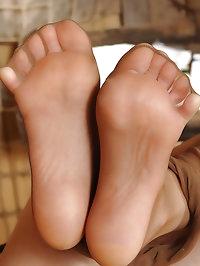 Hot nurse seduces doctor with feet