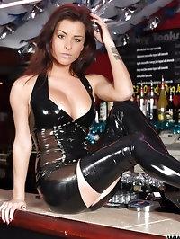 rae trans black dress