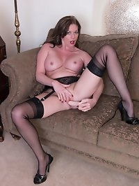 Out in her country reside, Holly likes to relax and..