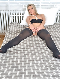 29 year old Samantha Jolie is always ready to dress up and..