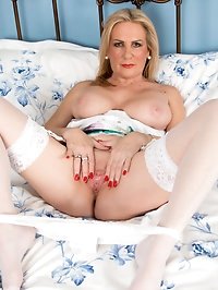 Enhanced British granny Alexia Blue wants to show you her..