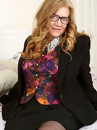 Busty schoolteacher Lily May