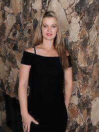 Beautiful elegant blonde Brooklyn Moore