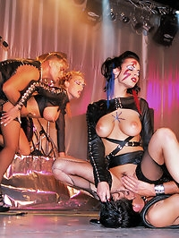 Hot girls get high diploma in pleasure on hot fetish course