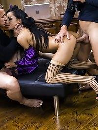 Double-penetration Loving Teen Slut Inga Devil is a Nasty..
