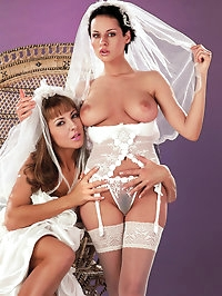 Horny brides have a last sex adventure before their weddings