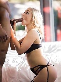 Insatiable Babe MILF Amber Deen Has First Interracial Sex