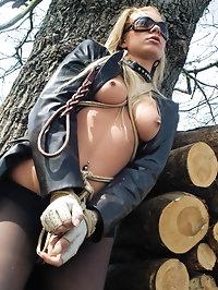 Horny Angelina Love makes some kinky experiences with BSDM