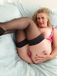 Naughty mature Camilla loves showing off her big natural..