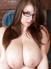 Gina G showing off her melons and beaver