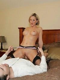 Desirae stripping and fucking set 2