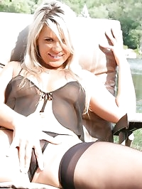 Black Sheer Lingerie (Nude)