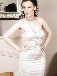 Horny brunette Charisma Jones from AllOver30 looking..