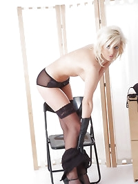 You have to love horny blondes wearing sexy lingerie and..
