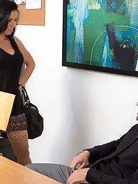 Rachel Starr & Johnny Castle in Naughty Office