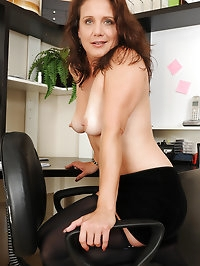 At 43 years old horny Chane can't keep her legs together..