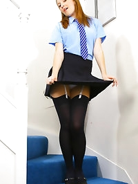 Gorgeous Sophia Smith in sexy college uniform and thick..