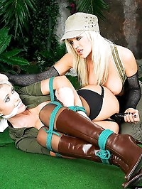 Lucy Zara loves to get tied up by her girlfriend and..